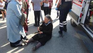 Yaralının başında kadın mı otobüse, otobüs mü kadına çarptı tartışması