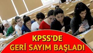 KPSS sınav giriş yerleri ne zaman açıklanacak
