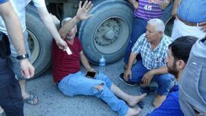 İstanbulda dehşet verici olay Aynadan baktı bir daha ezdi