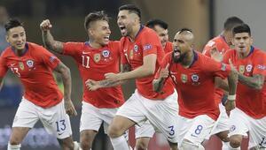 Copa Americada Şili, penaltılarla Kolombiyayı geçti