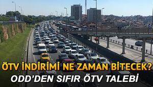 Araçlarda KDV ve ÖTV indirimi ne zaman sona eriyor Sıfır ÖTV talebi