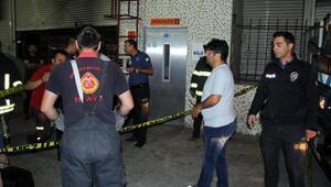 Kırşehirde asansörde sıkışan Afganlı çocuk öldü