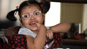 Ceylinin 60 bin liralık tedavisi için yardım kampanyası