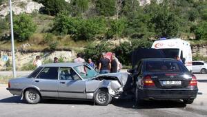 Burdurda kaza: 4 yaralı