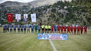 Kızıldağ Futbol Turnuvası başladı