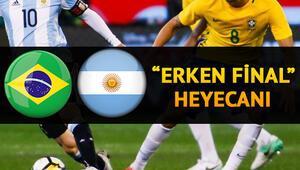 Brezilya Arjantin Copa America maçı saat kaçta ve hangi kanalda