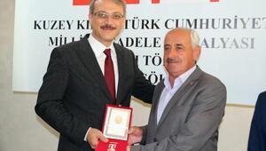 Bingölde Kıbrıs Barış Harekatı gazilerine madalya