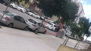 Genç kadını arabada infaz etmişti... Son görüntüsü ortaya çıktı
