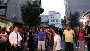Beyoğlunda çocuğa taciz iddiası mahalleliyi sokağa döktü