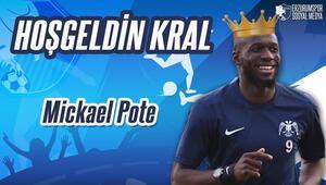Erzurumspor, Mickael Pote ile anlaştı