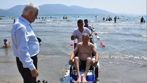 Muğla'nın Engelsiz Plajları Yüzleri Güldürüyor