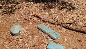 Siirtte PKKlıların tuzakladığı el yapımı patlayıcılar imha edildi