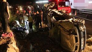 Aydında kaza: 2 ölü, 2 ağır yaralı