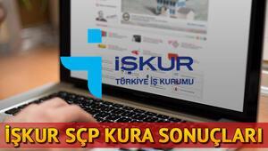 İŞKUR Sosyal Çalışma Programı sonuçları açıklandı SÇP kura sonuç sorgulama ekranı