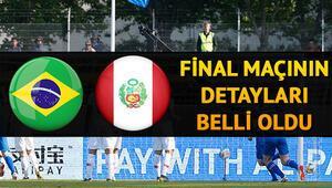 Brezilya Peru final maçı ne zaman saat kaçta ve hangi kanalda Copa America finali ne zaman