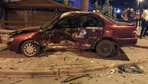 Karamanda kaza: 4 yaralı