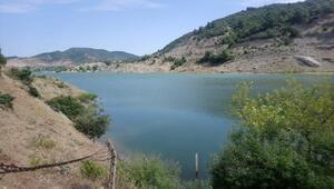 Tayfur Barajında dip çamuru tahliyesi yapıldı