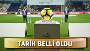 Süper Ligde yeni sezon ne zaman başlayacak