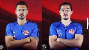 Antalyasporda Ufuk Akyol ve Harun Kavaklıdere imzayı attı