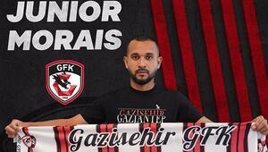 Gazişehir Gaziantep, Brezilyalı Junior Moraisı transfer etti