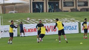 Fenerbahçede neşeli antrenman