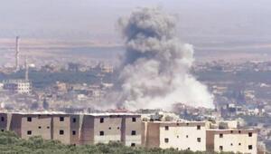Türkiye destekli muhaliflere de bombardıman