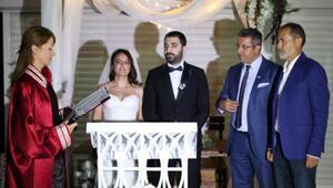 Hukuk camiasını buluşturan düğün