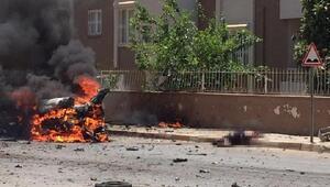 Reyhanlıda bomba yüklü otomobilde ölen Suriyelilerin örgüt bağlantısı araştırılıyor