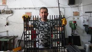Altay tankının mazgalları Aydında üretiliyor
