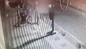 Malatyada, motosiklet hırsızlığı kamerada