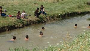 Kiliste, sıcak hava günlük yaşamı zorlaştırıyor