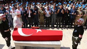 Şehit uzman onbaşı Kuddusi Volkan Şevik son yolculuğuna uğurlandı