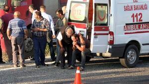 Zincirleme kazada ölen adam, toprağa verildi