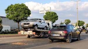 Afyonkarahisarda zincirleme kaza: 4 yaralı