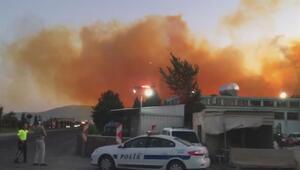 Azot fabrikasında patlama Sarı dumanlar yükseldi