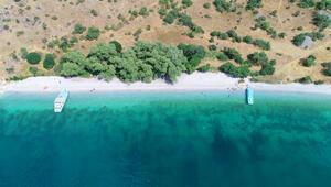 Türkiyenin keşfedilmeyi bekleyen mavi cenneti Saklı koyları görenlerhayran kalıyor...