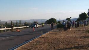 Sivasta otomobil motosikletle çarpıştı: 1 ölü, 4 yaralı