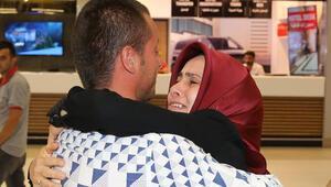 Serbest bırakılan Türk gemiciler İstanbula geldi