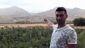 Temmuz ayında Erzincan'a kar yağdı