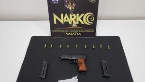 Malatyada uyuşturucu operasyonuna 3 tutuklama