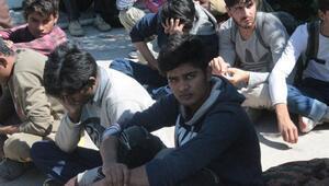 Sivasta Afganistan ve Pakistan uyruklu 15 kaçak yakalandı