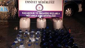 Kilis'te sahte içki operasyonu: 1 gözaltı