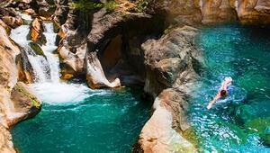 Türkiye'nin doğal havuz cenneti! Hâlâ tatil planı yapmayanlar, burası tam size göre...