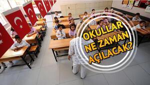 2019-2020 eğitim dönemi ne zaman başlayacak Okullar ne zaman açılacak