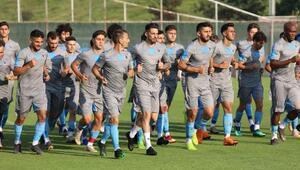 Trabzonspor, çift antrenmanla hazırlıklarını sürdürdü