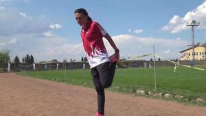 Tek ayakkabılı şampiyon Eminenin yeni hedefi Avrupada altın
