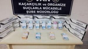 Vanda 680 paket kaçak sigara ele geçirdi