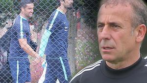 Beşiktaş antrenmanında dikkat çeken görüntü Tolga Zengin...