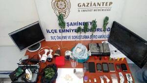 Çalıntı malzeme alıp, uyuşturucu satan şüpheli tutuklandı