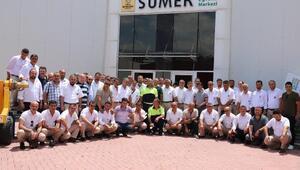 Konya Büyükşehir Belediyesinden şoför ve vatmanlara, yaya önceliği eğitimi